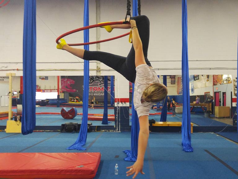 Recreational Gymnastics for Aerials, Tumbling and Trampoline