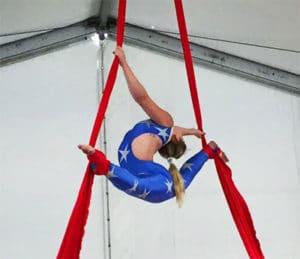 Aerial Silks Gymnastics Ontario Pickering OAA