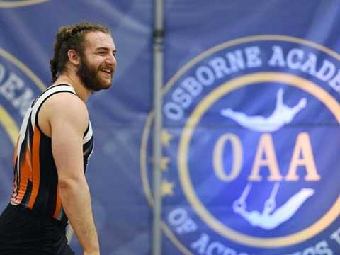 OAA Hosts Tumbling & Trampoline Championships
