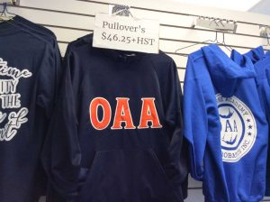 OAA Pullover Shirts